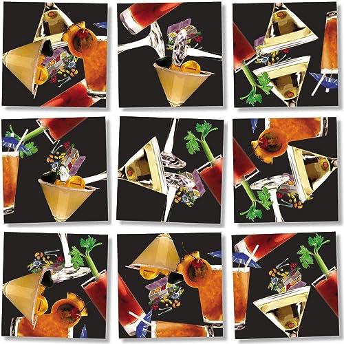 descuento B Dazzle Cocktails Scramble Squares 9 Piece Piece Piece Puzzle by B.Dazzle  Esperando por ti