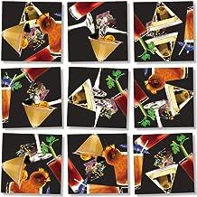 B Dazzle Cocktails Scramble Squares 9 Piece Puzzle