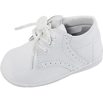 Angels Garment Baby Boys White Oxford