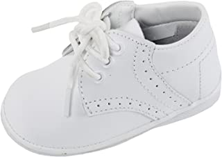 iGirlDress Angels Garments Baby Boys White Oxford Christening Shoes
