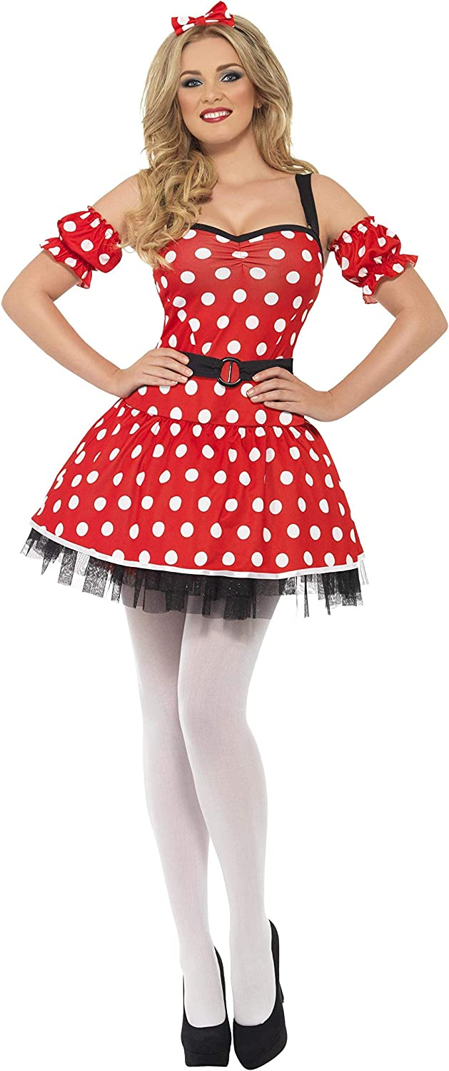 (S)  Fever Madame Mouse Fancy Dress Costume