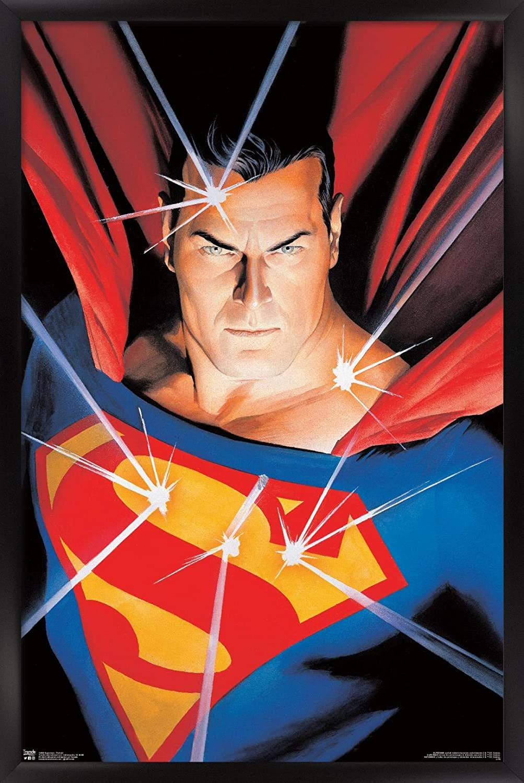Trends International Selling rankings DC Comics - Wall Max 90% OFF Superman Portrait Poster