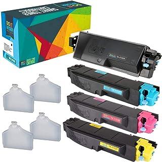 Do it Wiser Compatible Toner Cartridge Replacement for Kyocera TK5152 Mita ECOSYS M6535cidn M6035cidn P6035cdn - TK-5152K TK-5152C TK-5152M TK-5152Y (4-Pack)
