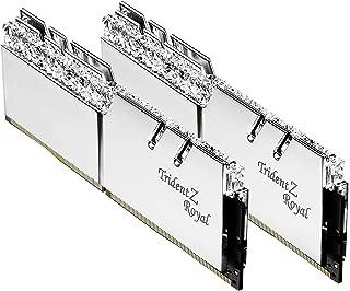 Gskill Trident Z Royal - Memoria RAM DDR4 16Gb (2x8GB) 3200Mhz Plata