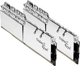 G.Skill 16GB DDR4 Trident Z Royal Silver 3200Mhz PC4-25600 CL16 1.35V Dual Channel Kit (2x8GB)