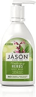 Jason Natural Body Wash and Shower Gel, Moisturizing Herbs 30 oz