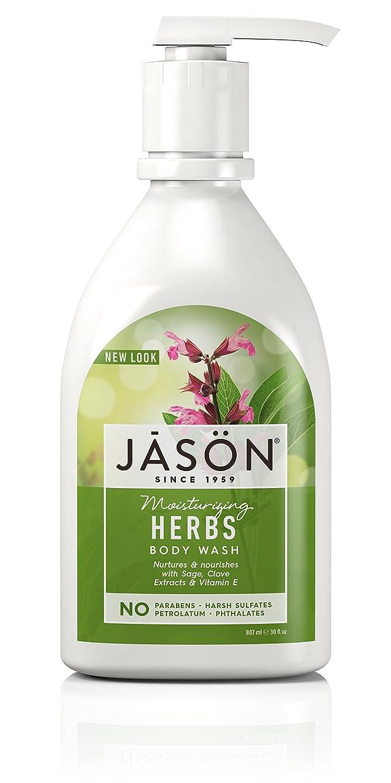 曇った健康的家Jason Natural, Pure Natural Body Wash, 30 fl oz (887 ml)