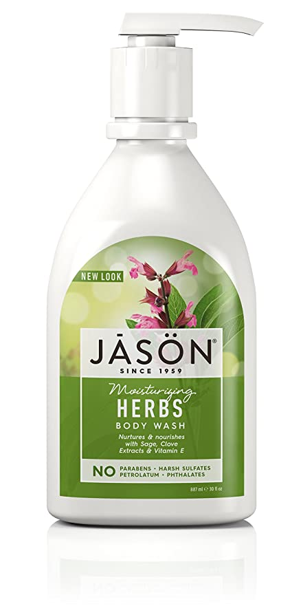 興味プレビスサイト持つJason Natural, Pure Natural Body Wash, 30 fl oz (887 ml)