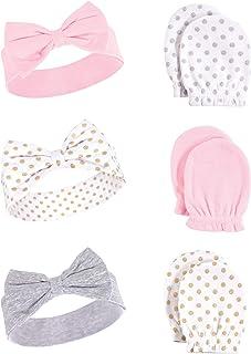 Best Hudson Baby Unisex Cotton Headband and Scratch Mitten Set Review