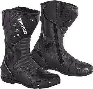 Black 9 RIDEX RS-3 Motorcycle Biker Motorbike Waterproof Long Adventure Boot
