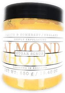 Asquith & Somerset Almond & Honey Sugar Scrub 19.4 OZ.