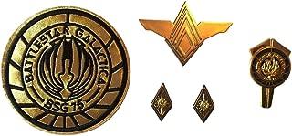 Battlestar Galactica Colonel Rank & Senior Officer Uniform Pins & Patch Set