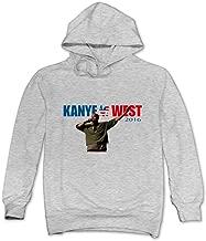 ITMEIAL Men's Kanye West Fleece Hoodie