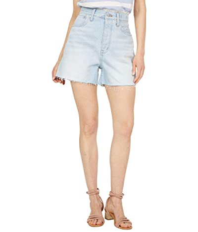Madewell Mom Shorts in Fitzgerald Wash Women
