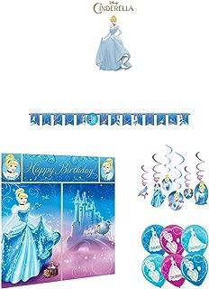 Cinderella Party Decorations Mega Pack