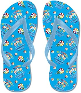 Lplpol Hockey Bears Flip Flops for Kids and Adult Unisex Beach Sandals Pool Shoes Party Slippers