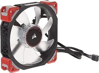 Corsair ML120 PRO Ventilador de PC (120 mm, Levitación Magnética, iluminación LED Azul) Paquete Soltero,LED Rojo,ML Pro 120 mm