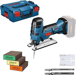 Bosch Professional 18V System sladdlös sticksåg GST 18 V-LI S (kompatibel med Bosch Click & Clean-system, inkl. 3x sågblad...