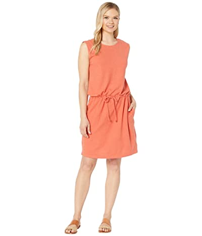 tentree Icefall Dress (Burnt Sienna Orange) Women