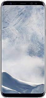 Samsung Galaxy S8+ SM-G955V - 6.2in- 64GB - Verizon + GSM Unlocked (Renewed) (Arctic Silver)