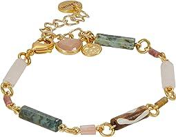 Semi Precious Stone Adjustable Bracelet