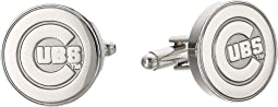 Cufflinks Inc. - Silver Edition Cubs Cufflinks