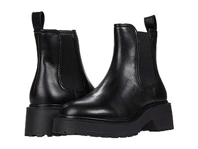 Steve Madden Trap Boot (Black Leather) Women