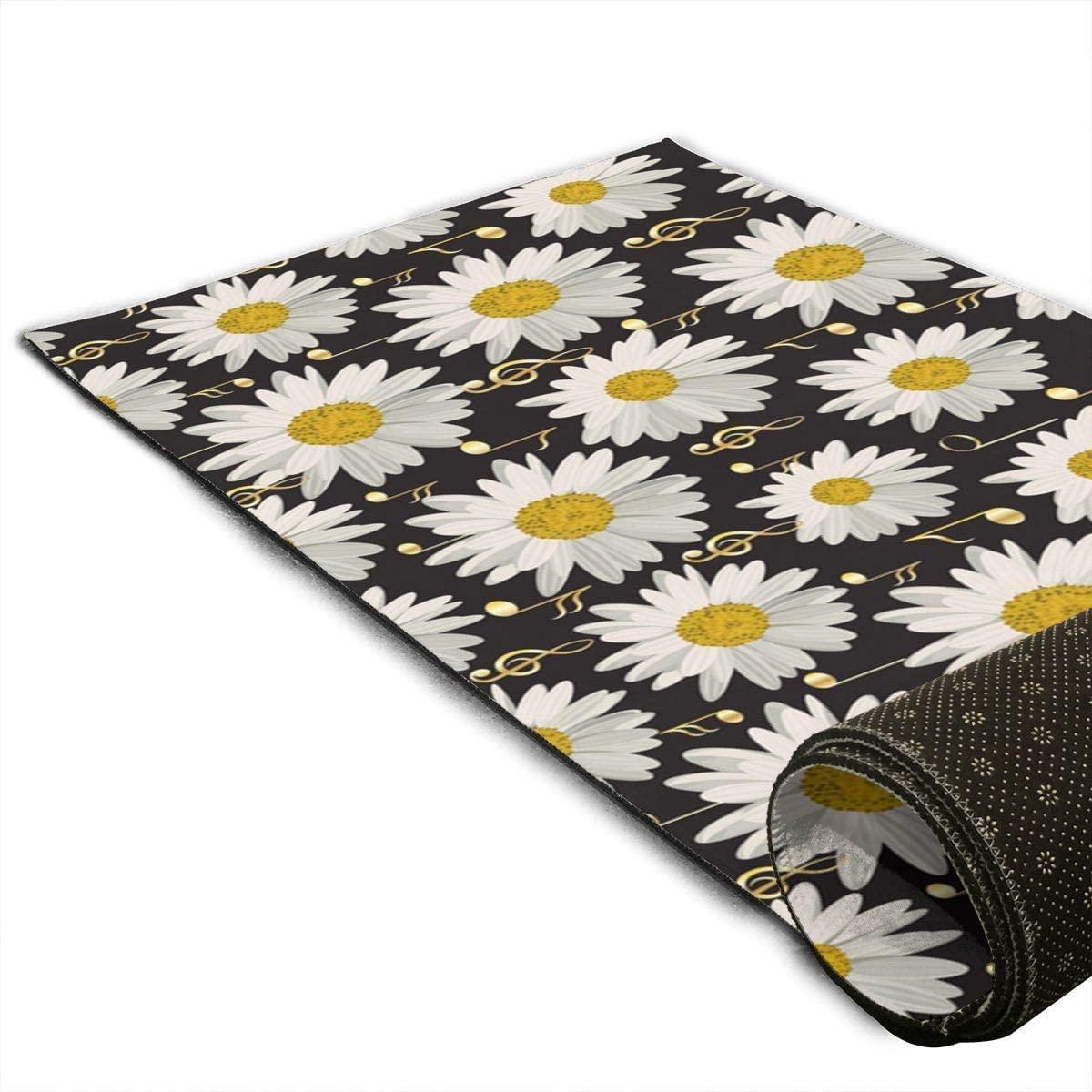 Granbey Yoga Mat Premium 5mm Ranking TOP10 Print Slip Non High material Extra Thick Exercise