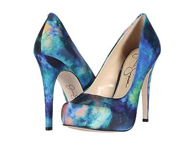Jessica Simpson Parisah (Blue Combo) High Heels