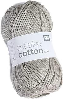 Rico Creative Cotton Aran 52 Pearl Grey