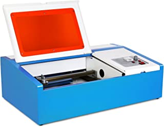 Mophorn Cutter 12x8 Inch Area Machine Engraver 40W Co2 Laser for Arts and Crafts with USB Port, Blue