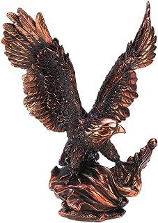 Gifts & Decor Majestic Eagle in Flight Bird Statue Figure Home Decor