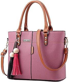 26d9fd91476 Womens PU Tote Bags, oteawe Women Purses and Handbags Casual Crossbody  Shoulder