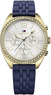 Women's Tommy Hilfiger Mia Multi-Function Silicone Strap Watch 1781570