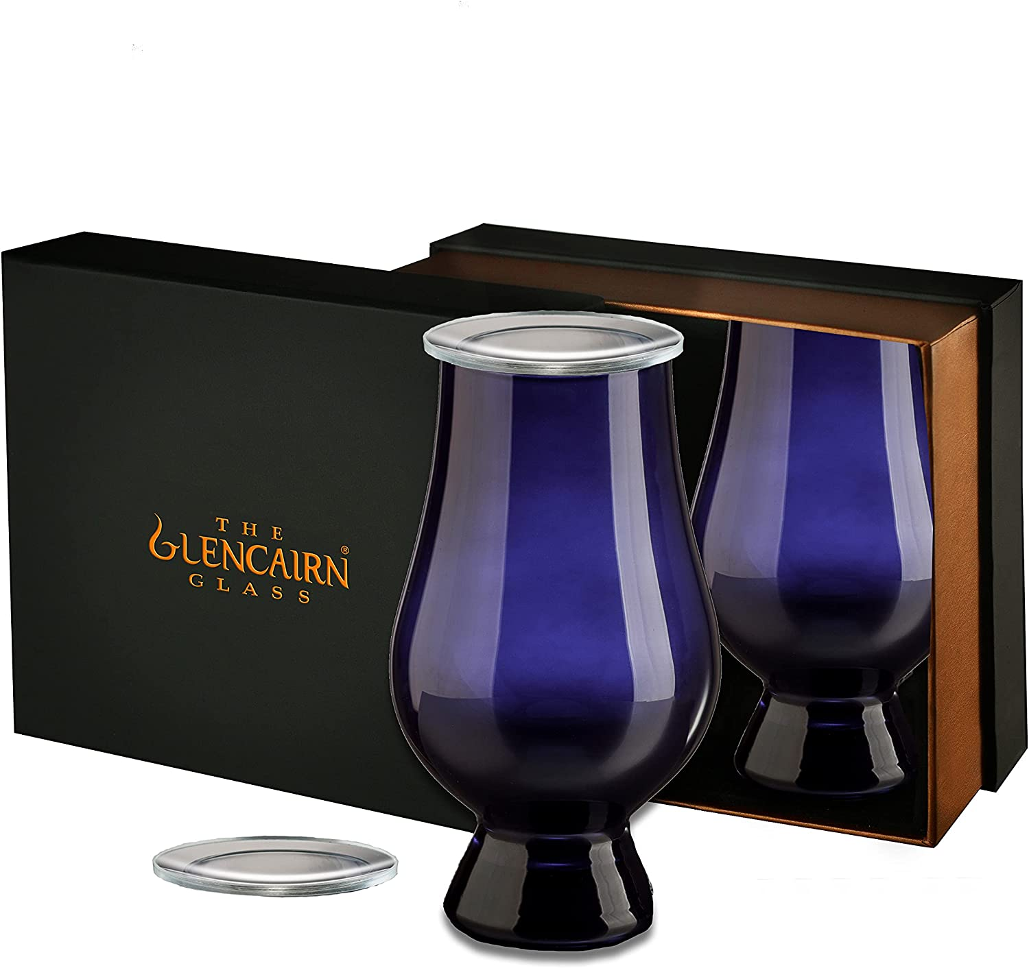 Blue Dallas Mall Glencairn Las Vegas Mall Whisky Glass + Watch 2 Presenta Set Covers of in