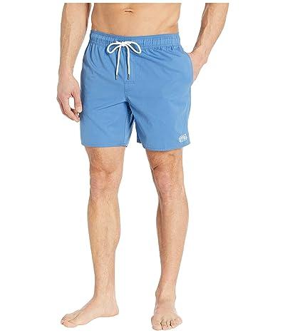 RVCA Opposites Elastic Shorts (Nautical Blue) Men