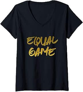 equal game t shirt