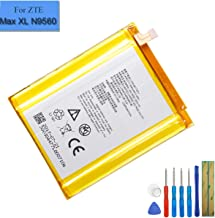 New Li-Polymer Replacement Battery Li3940T44P8H846748 Compatible with ZTE Blade Max 3 Z986 Z986DL N9560 MAX XL Z986U with Tools
