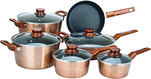 high quality Aramco high quality Cookware online Set, Large, Copper sale