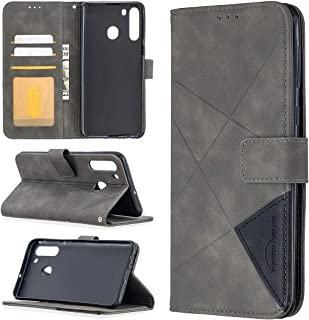 LODROC Lederen Portemonnee Case voor Galaxy A21, [Kickstand Feature] Luxe PU Lederen Portemonnee Case Flip Folio Cover met...