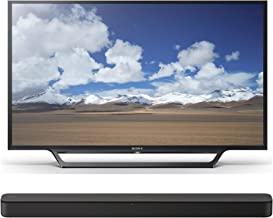 Sony KDL-32W600D 32-Inch Class HD Smart TV HT-S100F 2.0ch Soundbar