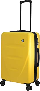 Mia Toro Italy Fassa Hardside Spinner Carry-on, Yellow