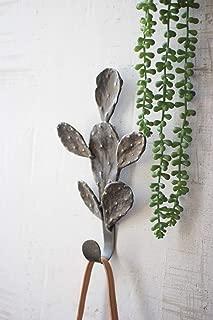 Kalalou Cast Iron Cactus Coat Rack, One Size, Brown