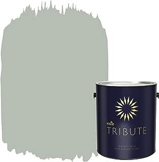 KILZ TRIBUTE Interior Satin Paint and Primer in One, 1 Gallon, Patio Gray (TB-64)