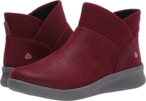 Maroon Synthetic Nubuck