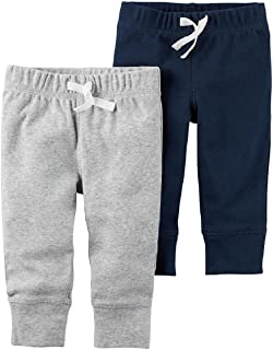 Carter's Baby Boys' 2-Pack Striped Pants