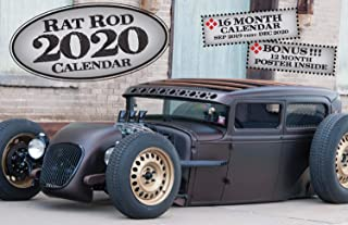 2020 Rat Rod Deluxe Wall Calendar