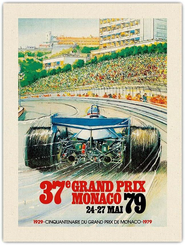Pacifica Island 出群 Art 37th Grand 新品 送料無料 Prix Formula - One Au 1979 Monaco