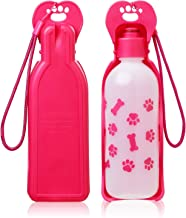 ANPETBEST Dog Water Bottle 325ML/11oz 650ML/22oz Portable Dispenser Travel Water Bottle Bowl for Dog Cat Small Animals (32...