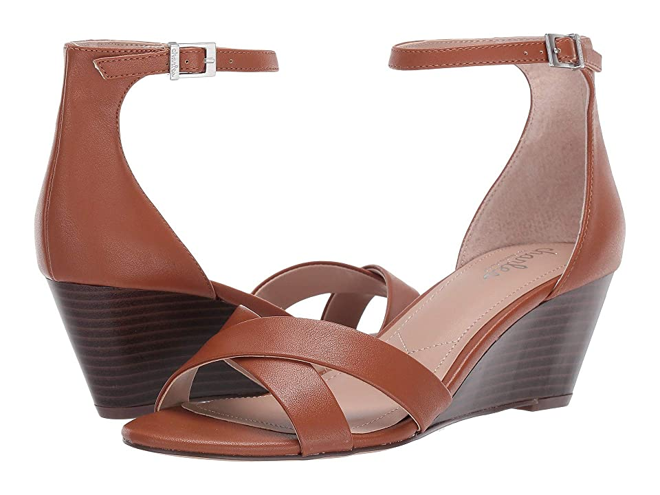 Charles by Charles David Griffin Wedge Sandal (Cognac) Women